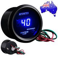 "Car AUTO 2"" 52mm DIGITAL Blue LED WATER TEMP Meter TEMPERATURE 40-150℃ GAUGE"