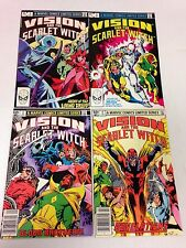 Vision And The Scarlet Witch #1 2 3 4 1982 mini series