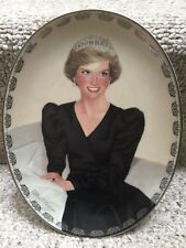Princess Diana Bradford Exchange Queen of Hearts Plate #6 Unforgettable Princess
