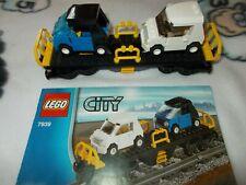 Lego® City Eisenbahn - aus 7939 - Set 4 - Autotransporter Waggon - mit BA