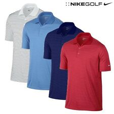 Nike Golf Victory Mini Stripe Polo Shirt Men Size Small   MSRP $55 NOW $19.99