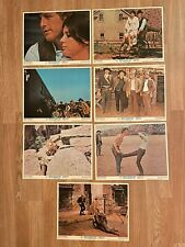 Butch Cassidy And The Sundance Kid (7) O 00006000 riginal Lobby Cards Re-release R-1973
