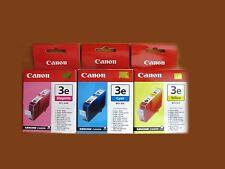 GENUINE CANON BCI-3 Muliti-Color Ink Set of 3