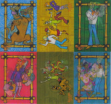 SCOOBY DOO THE MOVIE COMPLETE SET OF 6 LENTICULAR CARDS