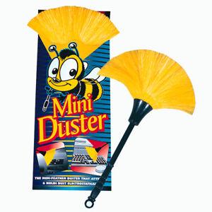 Mini Duster, electrostatic, yellow head, bee logo