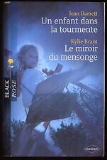 Livre Harlequin..COLLECTION BLACK ROSE..n° 74...2 Romans