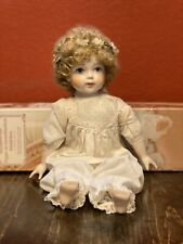 New ListingPorcelain Doll Girl Antique German A Touch of Nostalgia Charming Romantic Dress