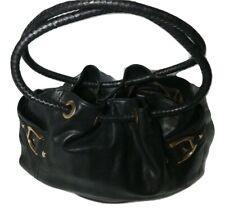 Cole Haan Leather Shoulder Bag Denney Black Leather Purse