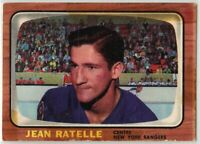 1966-67 Topps Hockey #29 Jean Ratelle G-VG Condition (2020-03)