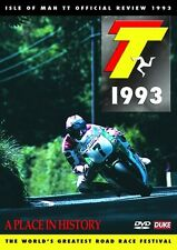 Isle of Man TT - Official Review 1993 (New DVD) Motorcycle Road Racing Bike