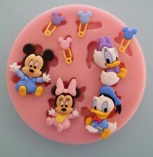 BABY DISNEY SILICONE MOULD FOR CAKE TOPPERS, CHOCOLATE, CLAY ETC