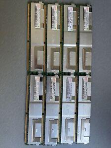 Hynix 8x4GB PC2-5300F-555-11 HYMP151F72CP4N3-Y5 AC Server RAM ECC DDR2