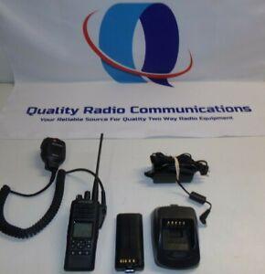 Kenwood TK-5430-F2 P25 800 MHz Two Way Radio w KMC-41 Mic & Charger TK-5430