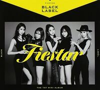 Fiestar - Black Label (1st Mini Album) [New CD] Asia - Import