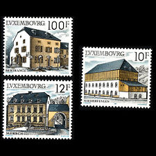 Luxembourg 1987 - Rural Architecture Buildings - Sc 775/7 MNH
