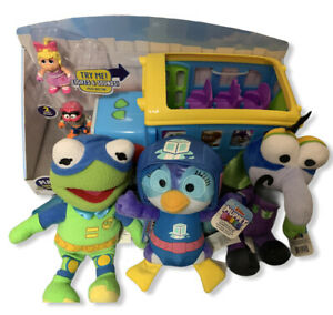Disney Junior Muppet Babies Friendship School Bus And Plush Muppet Babies