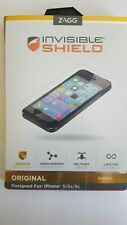 Zagg Invisible Shield original For iPhone 5 5s 5c * BRAND NEW *
