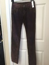 Theyskens' Theory Palak Werner Sunset Corduroy Pants Jeans $278 Made In USA Sz29