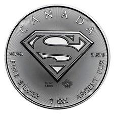 1 oz Silber SUPERMAN™ 2016 - 5 Dollar Kanada Stempelglanz Silbermünze 999,9