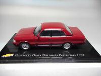 CHV 02 CHEVROLET OPALA DIPLOMATA COLLECTORS 1992 BRASIL SALVAT 1/43