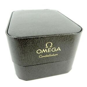 GENUINE OMEGA WATCH BOX VINTAGE GREY CONSTELLATION