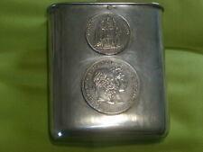 Münzbecher Silber mit Gulden Franz Joseph Dianakopf Punzierung Freiherr W/20/346