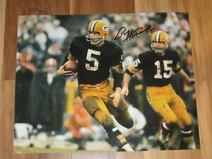 Green Bay Packers PAUL HORNUNG Signed 8x10 Photo NFL HOF AUTOGRAPH