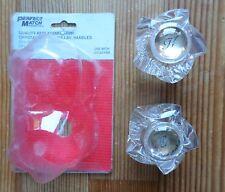 Vintage 1994 Lucite Plastic Acrylic Faucet /Tub/Shower Handles Perfect Match