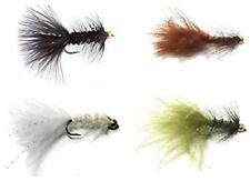 Bead Head Wooly Bugger - 36 Wet Flies - 3 Size Asst 6, 8, 10 (3 of Each Size)