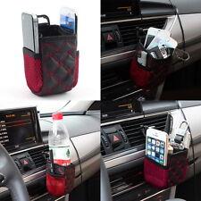 Car Seat Side Back Net Storage Bag Case Phone Holder Pocket Organizer Pounch SG