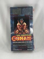 1993 COMIC IMAGES CONAN THE CHROMIUM TRADING CARDS (36) PACK SEALED BOX