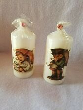 Rare 2 Vintage Hummel Candle in cellophane 1955 Nib~Great Collectible