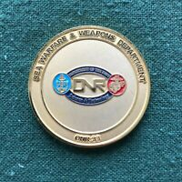 USN Navy Office of Naval Research Sea Warfare & Wpns Dept ONR-33 Challenge Coin