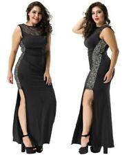 Lace Long Dresses for Women with Sequins