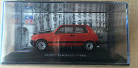 "DIE CAST "" TALBOT SAMBA GL - 1982 "" SIMCA COLLECTION SCALE 1/43"