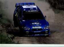 Tommi Makinen Subaru Impreza S9 WRC Rally Australia 2003 Signed Photograph