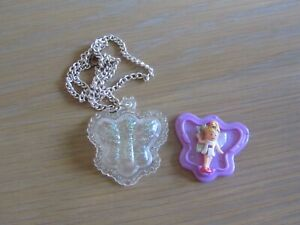 RARE 1993 BUTTERFLY FAIRY LOCKET 100% COMPLETE
