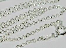 "Sterling Silver Belcher Chain Necklace - 2mm Width ~ 16"" 18"" 20"" 22"" 24"" 30"" 36"""