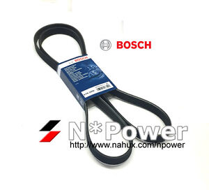 BOSCH DRIVE Belt Multi Acc FOR Land Rover Discovery 3 2005-2009 2.7L V6 276DT