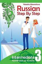 Russian Step By Step Intermediate Level 3: With Audio Direct Download (Volume 4)