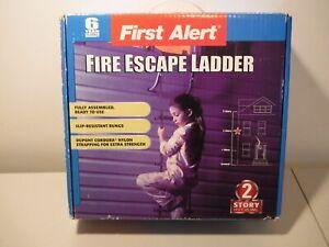 First alert Ladder, fire escape