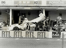 BMW M1 N°82. Le Mans 1982. Vintage photo 18x24 cm. L574