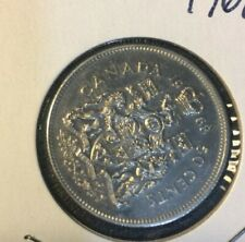 1968 CANADA 50 CENTS , HALF DOLLAR COIN uncirculated extra fine