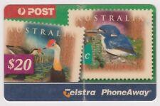 (K70-58) AU 2001 AU $20 phone away used phone card (BH)