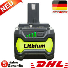 18V Für Ryobi Akku 4,0Ah P108 Lithium Ionen Batterie One+ Plus RB18L50 P104 P107