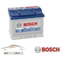 BOSCH org. Batterie de démarrage S4 12v 60ah 540A voiture Fiat Jeep Seat