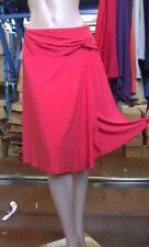 Joseph Ribkoff BNWT UK 10 fabuloso abrigo estilo amapola roja (fija) falda con corbata