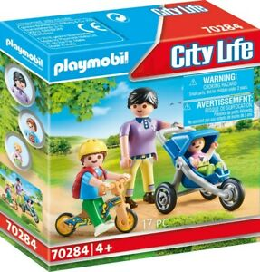Playmobil - Mother with Children PMB70284