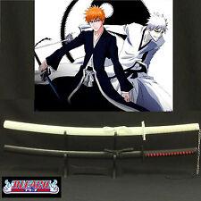 Bleach Ichigo & Hollow Ichigo Bankai Black & White Sword Collection Set free std