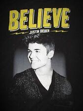 """2013 JUSTIN BIEBER """"Believe LIVE"""" Concert Tour (XL) T-Shirt"""